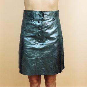 Zara Metallic High Waisted Midi Skirt – M